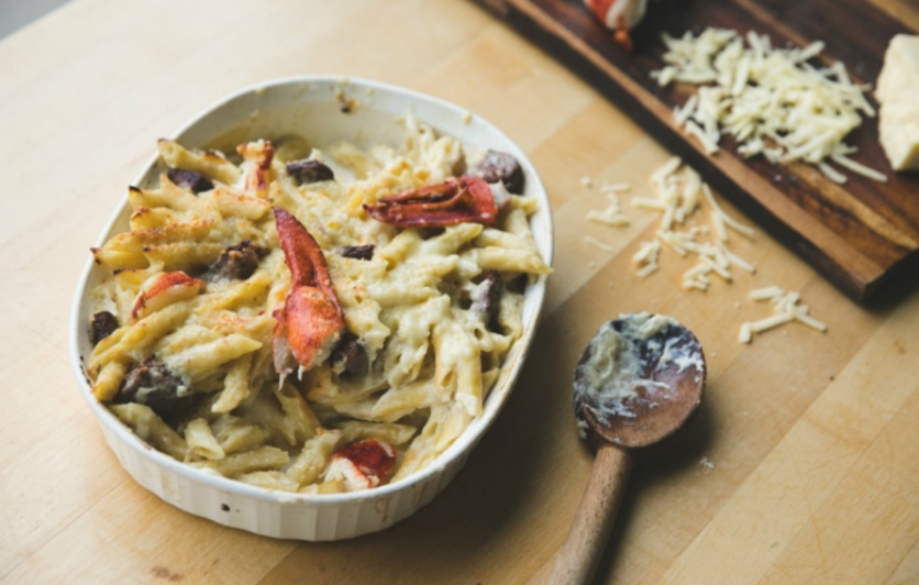 Mac and cheese, that decadent indulgence, the ultimate comfort food.
