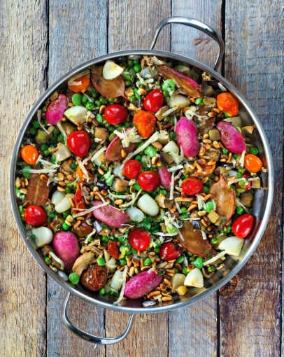 The seasonal abundance of vegetables inspires and rewards creativity. Enjoy our ratatouille recipes!