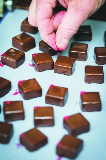 Your first bite of a Bijou ginger, raspberry or cardamom coffee truffle transports you to a happy place