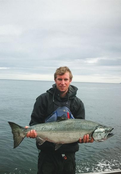 Anthony Naples Alaskan Salmon Fishing