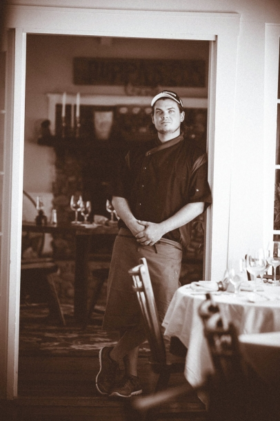 Colin Arthur of Red Clover Inn and Restaurant