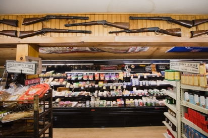 Singleton's GeneralStore in Proctorsville, Vermont has been the place to go for groceries, beer, guns, and fresh and smoked meats.
