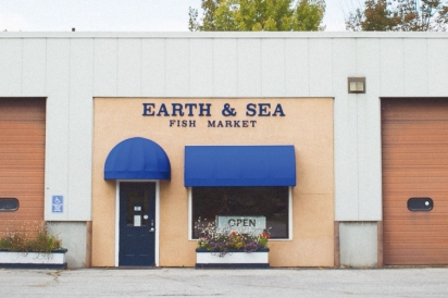 Earth and Sea Fish Market Store Front