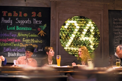 Ambience and local food at Table 24