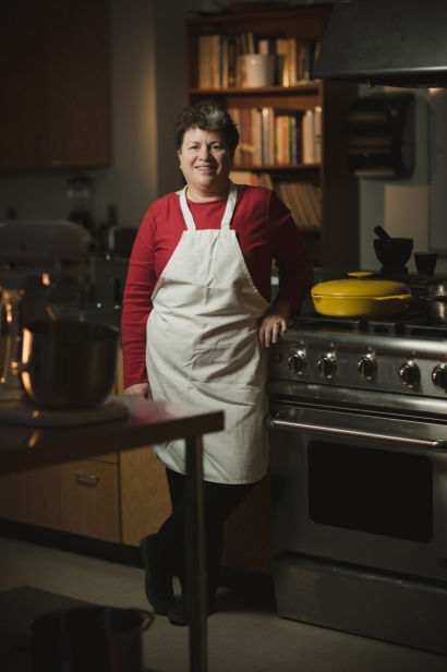 Amy Trubek was trained as a chef and anthropologist and is now an associate professor in the Department of Nutrition and Food Sciences at UVM