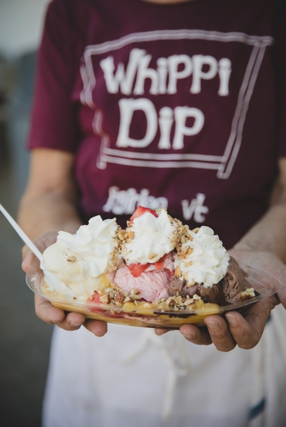 Welcome to Whippi Dip in Fairlee, Vermont.