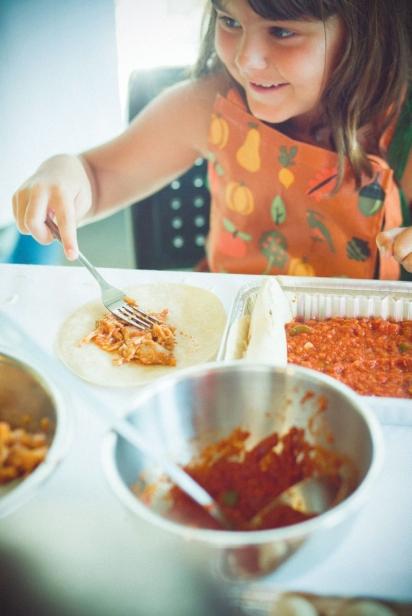 Making good food and having fun
