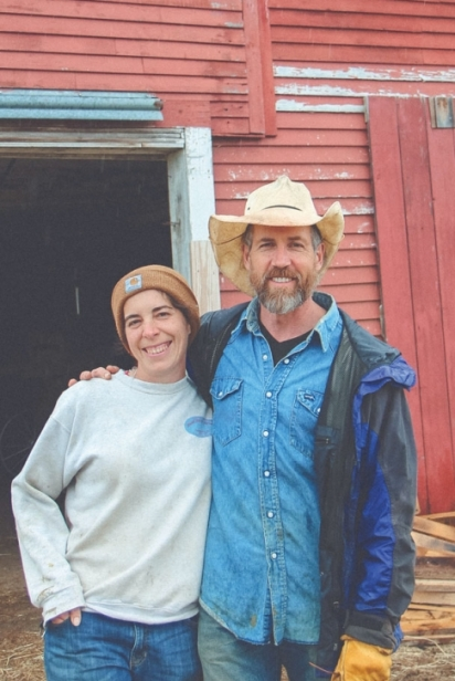 Kerry Gawalt and Stephen Leslie of Cedar Mountain Farm.