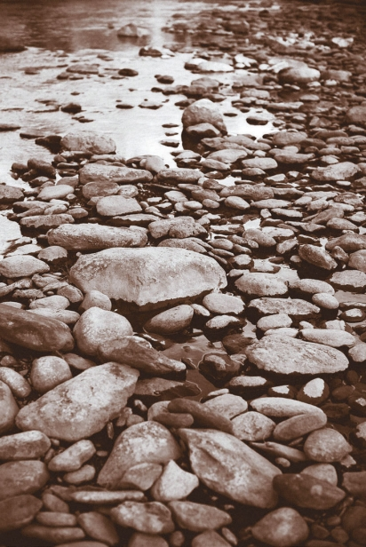 Rocks on the river