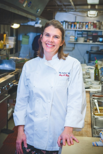 Chef Amy Chamberlain of Perfect Wife Restaurant and Tavern