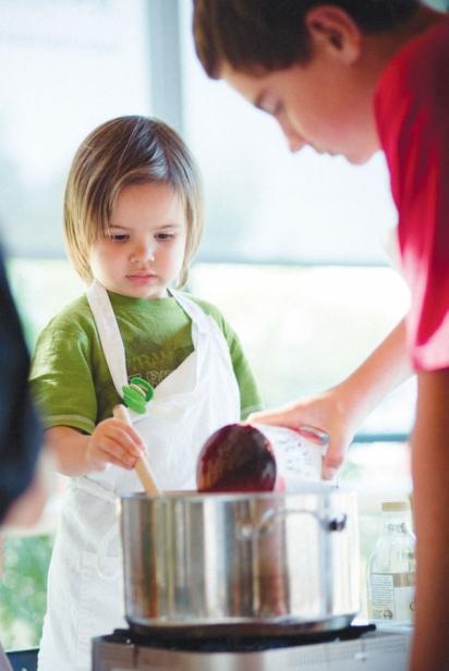 Teamwork in the Kitchen