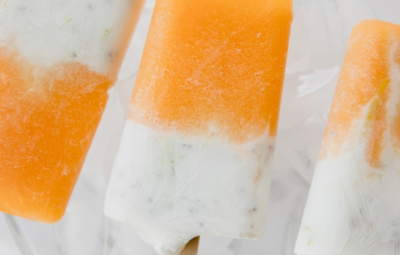 These easy-to-make frozen treats are healthy and delicious.