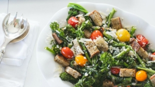 grilled bread salad