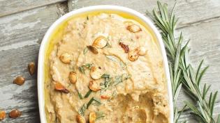 roasted delicata squash hummus